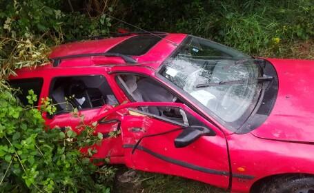 O femeie a murit într-un accident în Bistrița Năsăud. În mașină se afla și un copil de 10 luni