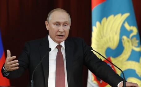 Putin ameninţă NATO, în cazul în care Alianţa continuă apropierea de Ucraina şi Georgia