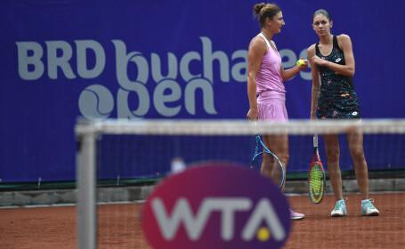 Irina Begu și Andreea Mitu s-au calificat în finala probei de dublu la BRD Bucharest Open