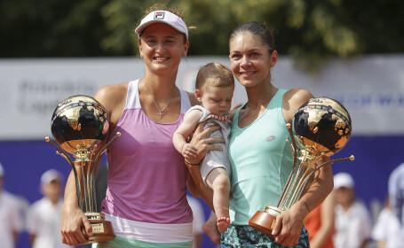 Perechea Irina Begu/Andreea Mitu a câştigat trofeul BRD Bucharest Open