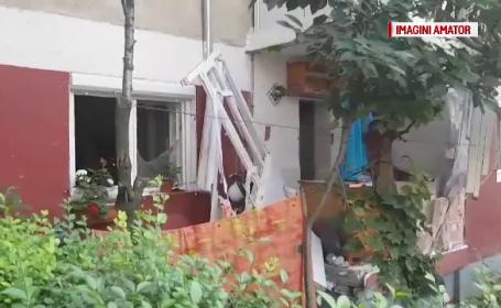 Doi soți din Oradea, la un pas de moarte. Apartamentul lor a sărit în aer