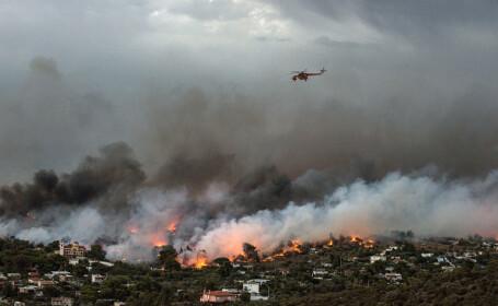 Două aeronave MApN au plecat spre Grecia pentru sprijin în cazul incendiilor