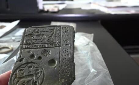 Descoperire unică făcută de un tânăr din Mureş, cu ajutorul detectorului de metale