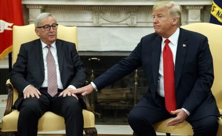 Donald Trump si Jean Claude-Juncker