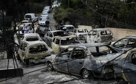 Avertizare MAE: Risc de incendii, în mai multe zone din Grecia
