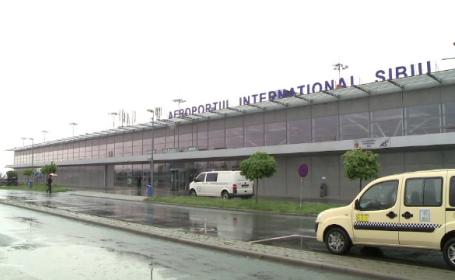 Probleme pe aeroportul din Sibiu. O cursă a fost deviată şi alta anulată