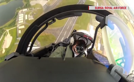 Analişti, despre bombardierul rusesc interceptat deasupra Mării Negre: \