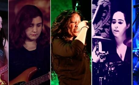 Trupă heavy metal, de fete, acuzată de satanism. Reacția tinerelor