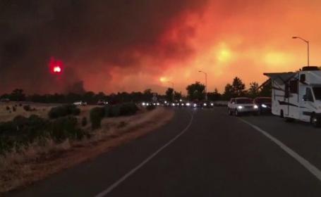 Incendiul din California: \