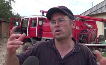 """Un francez i-a salvat pe localnicii loviți de viitură în Brașov. """"Singurul care o fost de ajutor"""""""