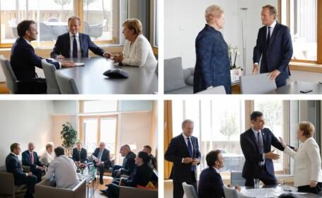 Liderii UE continuă negocierile pentru șefii de instituții. Merkel face apel la compromis
