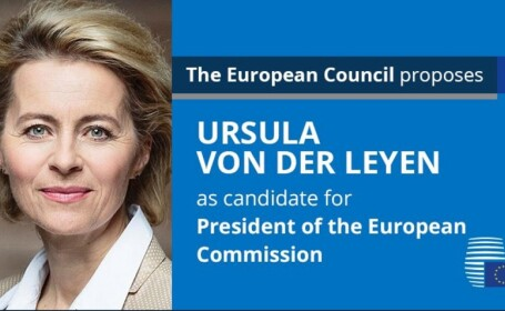 Ursula von der Leyen, propusă pentru șefia Comisiei Europene, Charles Michel, președintele Consiliului European