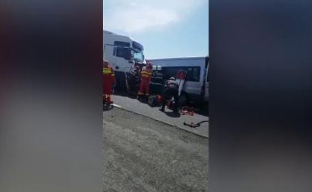 accident cluj, tir, satu mare
