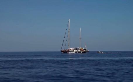 nava migranti, Lampedusa