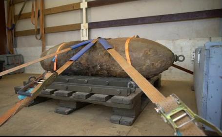 Bombă din al Doilea Război Mondial, descoperită în Frankfurt