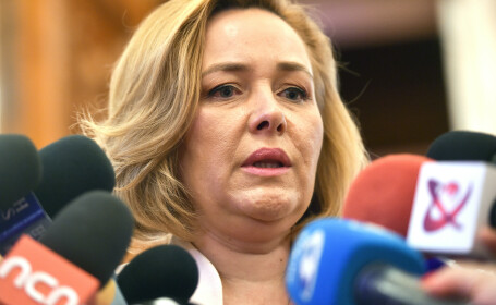 """Carmen Dan a demisionat din fruntea Ministerului de Interne: """"Plec cu fruntea sus"""""""