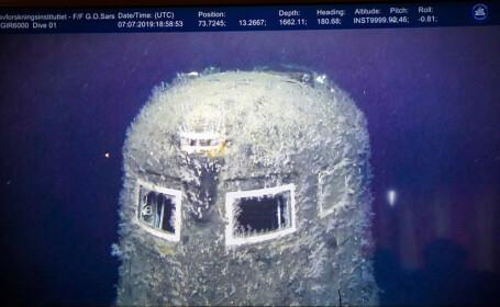 Cum arată submarinul nuclear Komsomoleţ, la 30 de ani după scufundare. Nivelul radiaţiilor