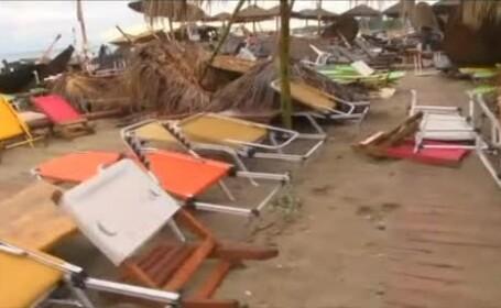 Alertă meteo în Grecia! Furtuni puternice și grindină, anunțate în Thassos sau Halkidiki