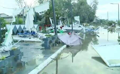 7 morți și peste 100 de răniți în Grecia. Romanița Iovan, prinsă în furtună