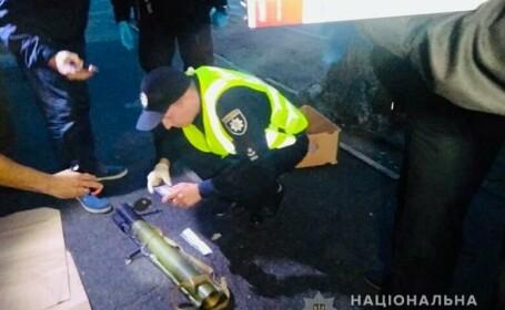 atac cu grenade in Kiev