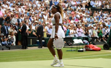 Serena Williams in finala cu Simona Halep