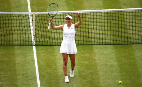 Simona Halep - Serena Williams în finala Wimbledon 2019