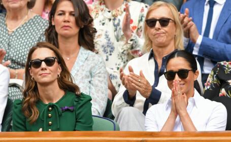 Kate si Meghan la finala Wimbledon 2019