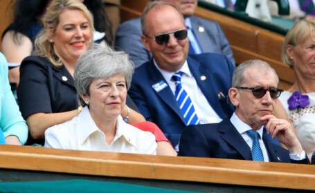 Vedetele care au urmarit finala Wimbledon din tribuna - 9