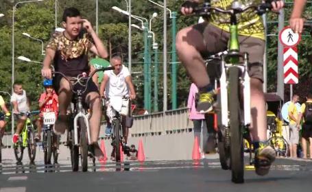 Eveniment pentru biciclişti, în Timişoara. De ce au stat oamenii la coadă