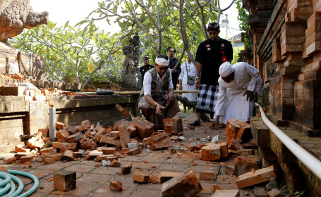 Cutremur Bali