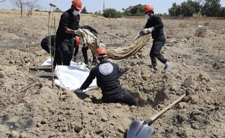 Descoperire macabră în fosta capitală a ISIS. Câte mii de oameni au ucis jihadiştii