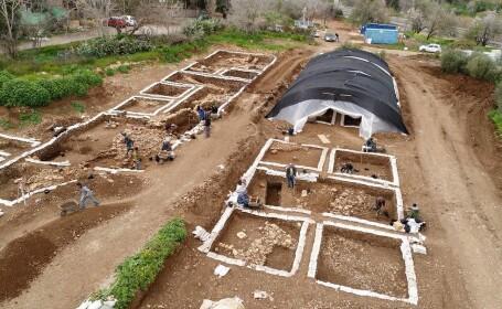 Una dintre cele mai mari așezări din Epoca de Piatră, descoperită în Israel. Are 9.000 de ani - 1