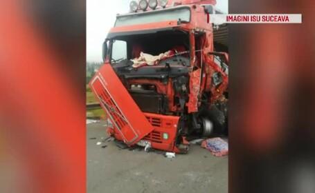 Accident grav în Pasul Tihuța, după o depășire riscantă