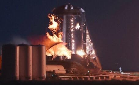 spacex, nava, starhopper, test, explozie, foc