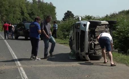 Accident la Buzau