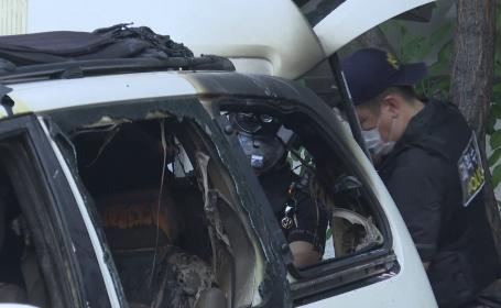 Un bărbat şi-a dat foc în maşină, din cauza chinurilor la care a fost supus tatăl lui