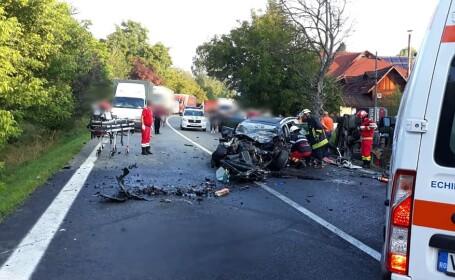 Accident grav pe Valea Oltului