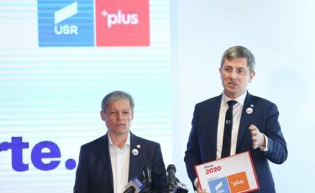 Liderii Alianței USR-PLUS, Dacian Cioloș și Dan Barna