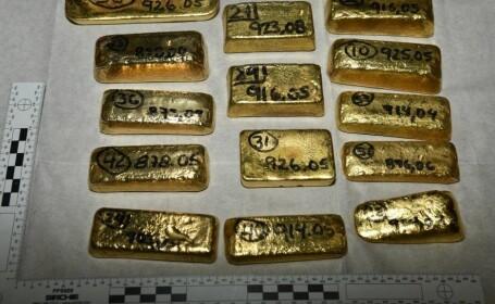 Lingouri de aur de 5 milioane dolari găsite pe aeroport. De unde proveneau