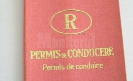 Un șofer a prezentat permisul din Republica Socialistă România. Ce a pățit