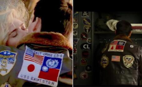 Imagine controversată în noul film Top Gun. Ce a dispărut de pe geaca de pilot a lui Tom Cruise