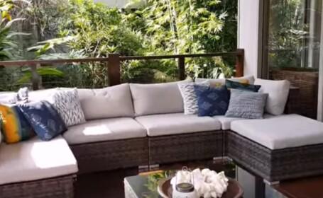 Piton uriaș ascuns în mobila de pe veranda unei familii. Cum a fost capturat