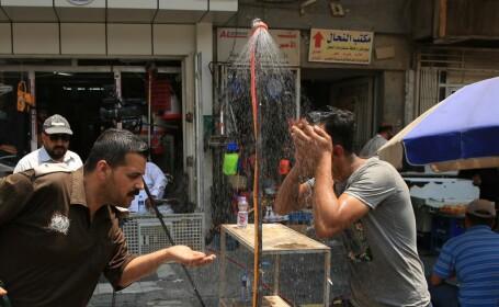Vreme caniculara in Irak