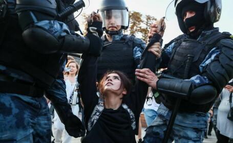 Peste 1.000 de persoane, arestate la Moscova - 5