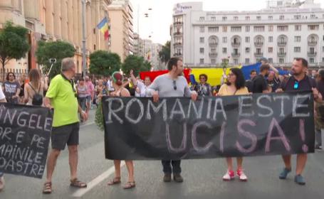 Protest la Bucuresti si Cluj