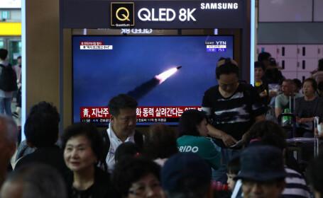 Coreea de Nord a lansat noi rachete. Avertismentul lui Kim pentru Trump