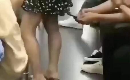 filmat fusta metrou