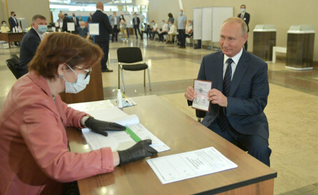 Referendum în Rusia: Vladimir Putin rămâne președinte până în 2036