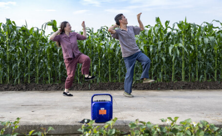 Dansul unor fermieri chinezi a devenit viral. Cum le-a venit ideea