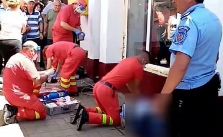Un botoșănean a murit sub ochii a sute de oameni după ce s-a înecat cu un mic